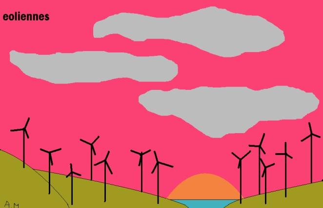 Comment dessiner une eolienne - Comment fonctionne les eoliennes ...